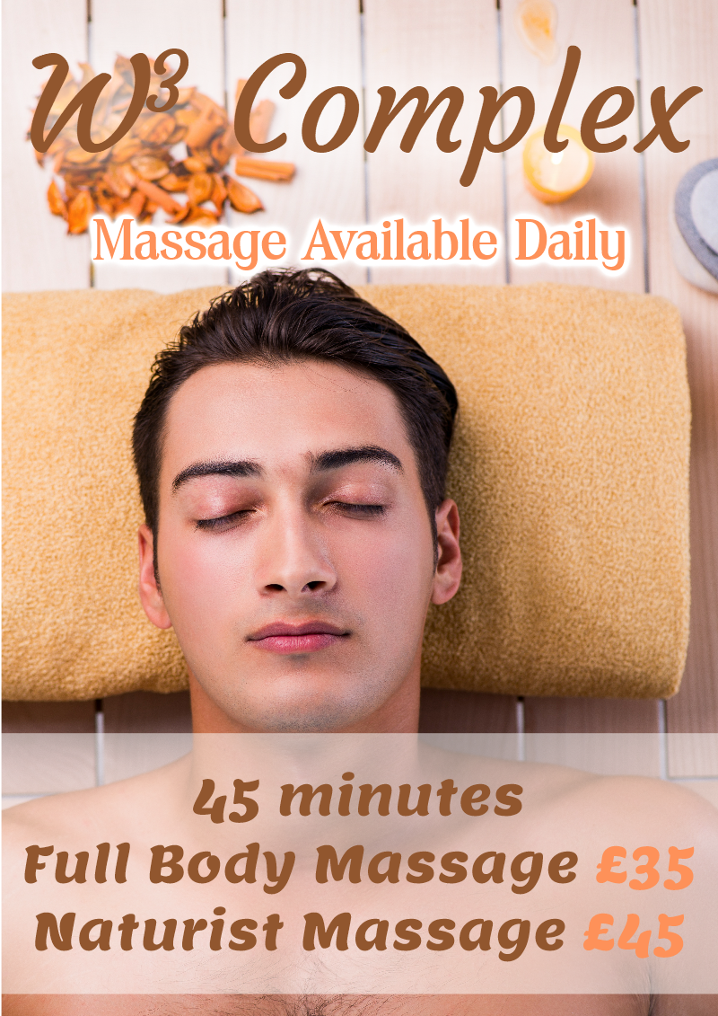 Gay Man Receiving Male Massage